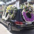 Obsèques de l'ex-ministre de l'économie espagnol Miguel Boyer, le mari d'Isabel Preysler, à Madrid le 30 septembre 2014