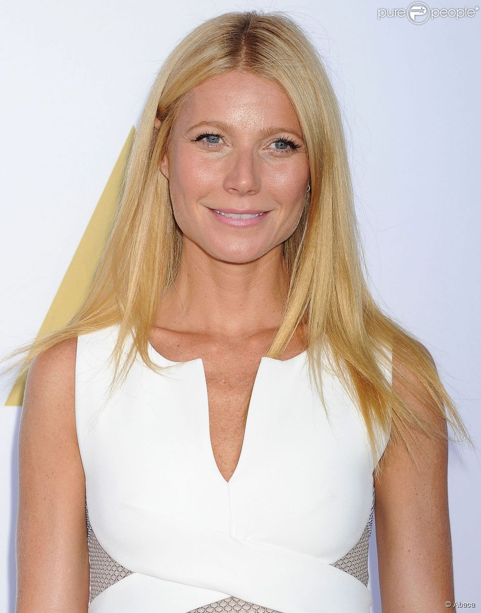 Gwenyth Paltrow à l'Academy Hosts Hollywood Costume Luncheon, Los Angeles, le 8 octobre 2014.