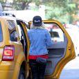 Amanda Bynes dans les rues de New York. Le 6 octobre 2014