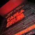 Concert de Carla Bruni à l'Olympia à Paris, le 11 mars 2014.