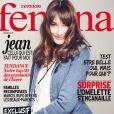 "Carla Bruni en couverture de ""Version Femina"", octobre 2014."