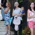 Gwen Stefani et son fils Apollo dans les rues de Sherman Oaks, le 11 octobre 2014.