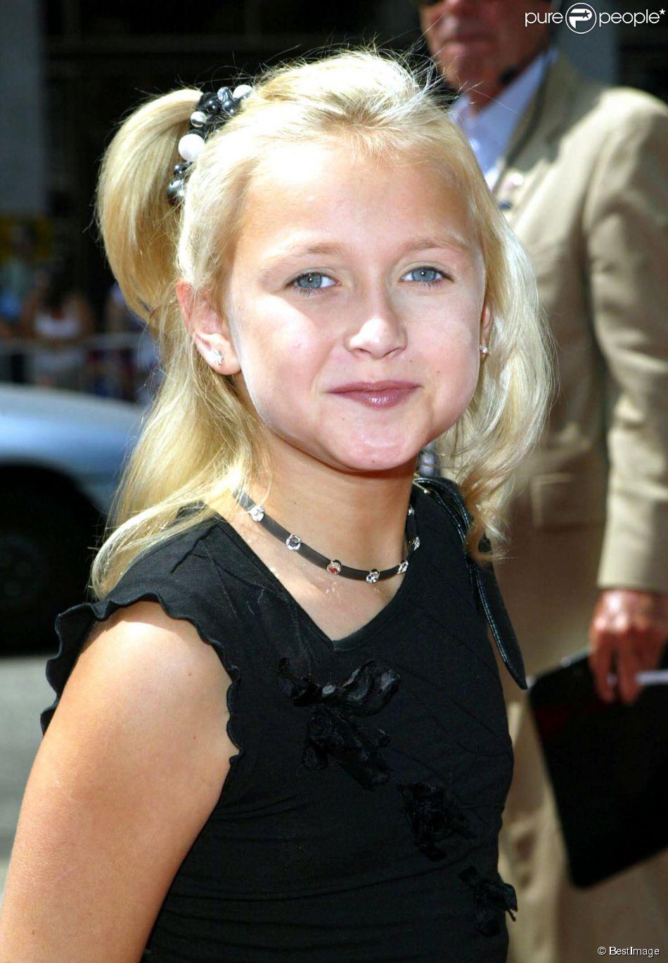 Skye McCole Bartusiak à Los Angeles le 29 juin 2002.