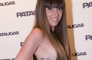 Capucine Anav, sexy et tatouée, devant Elisa Tovati et Michèle Laroque