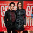 """Rachid Yous et Céline Sallette - Avant-première du film """"Geronimo"""" à l'UGC Ciné Cité des Halles à Paris, le 13 octobre 2014."""