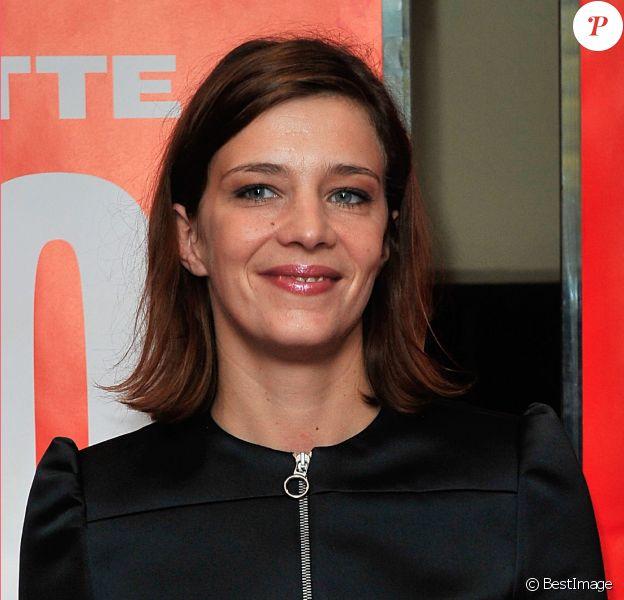 """Céline Sallette - Avant-première du film """"Geronimo"""" à l'UGC Ciné Cité des Halles à Paris, le 13 octobre 2014."""