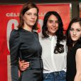 """Céline Sallette, Nailia Harzoune, Maryne Cayon - Avant-première du film """"Geronimo"""" à l'UGC Ciné Cité des Halles à Paris, le 13 octobre 2014."""