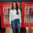 """Nailia Harzoune - Avant-première du film """"Geronimo"""" à l'UGC Ciné Cité des Halles à Paris, le 13 octobre 2014."""
