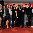 """Le réalisateur Tony Gatlif et l'équipe du film - Avant-première du film """"Geronimo"""" à l'UGC Ciné Cité des Halles à Paris, le 13 octobre 2014."""
