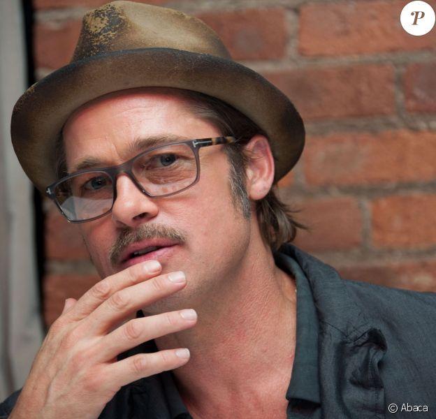 Brad Pitt à New York le 14 octobre 2014.