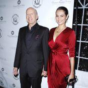 Bruce Willis : Mari fier auprès de sa femme, Emma, élégante et raffinée