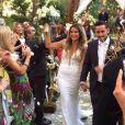 Alex Murrel a dit oui à son amoureux Kyle Mark Johnson à l'occasion d'une superbe cérémonie qui s'est déroulée le 25 octobre à Malibu.