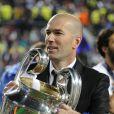 Zinédine Zidane à Lisbonne le 24 mai 2014.