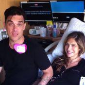 Robbie Williams papa : Sa belle Ayda a accouché, il a tout partagé sur Twitter !