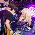 Rita Ora, déchaînée en concert pour HP Connected à Moscou. Le 27 octobre 2014.