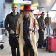 Rita Ora et son petit ami Ricky Hilfiger à l'aéroport JFK à New York. Le 23 octobre 2014.