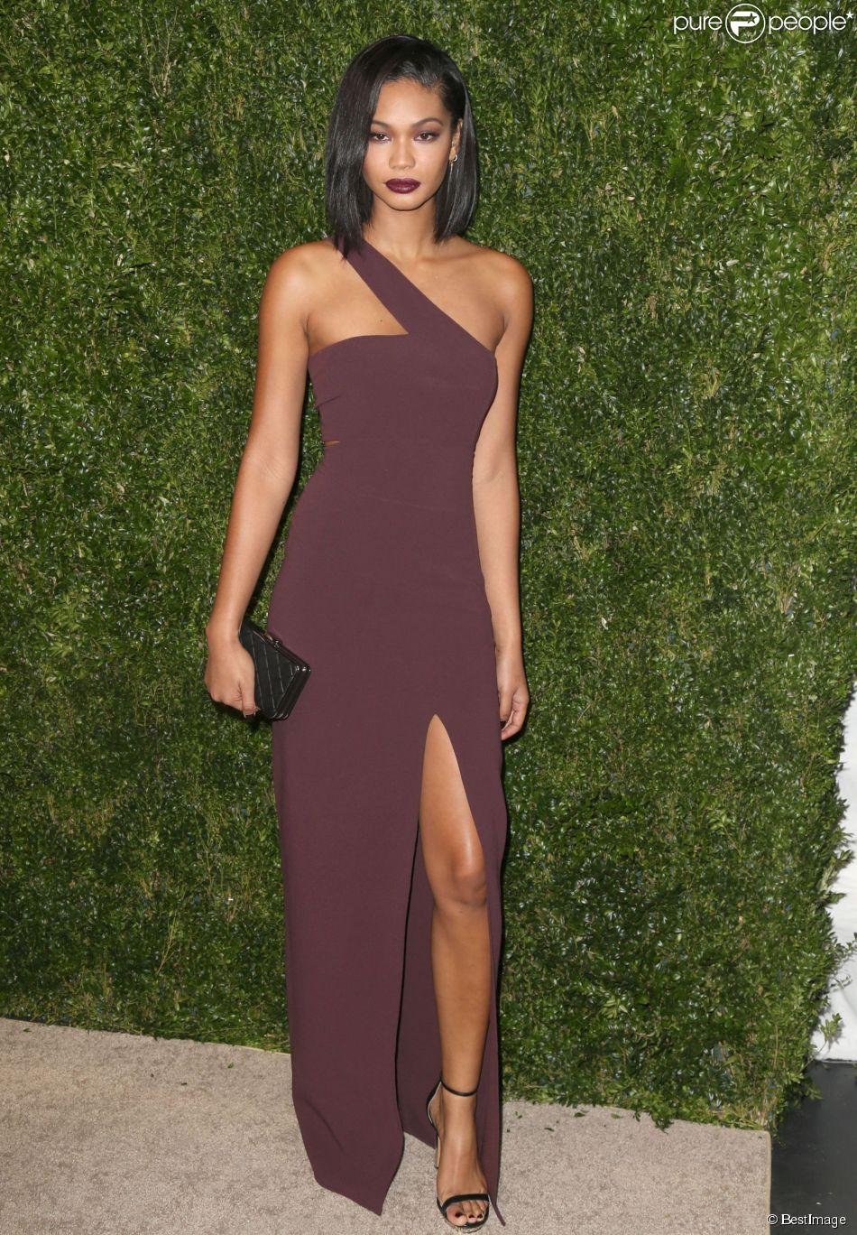 "Chanel Iman - Cérémonie des Golden Heart Awards ""God's Love We Deliver"" à New York, le 16 octobre 2014."