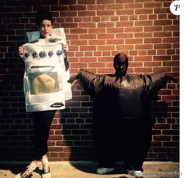 Liv Tyler pose avec son déguisement Halloween sur son Instagram, le