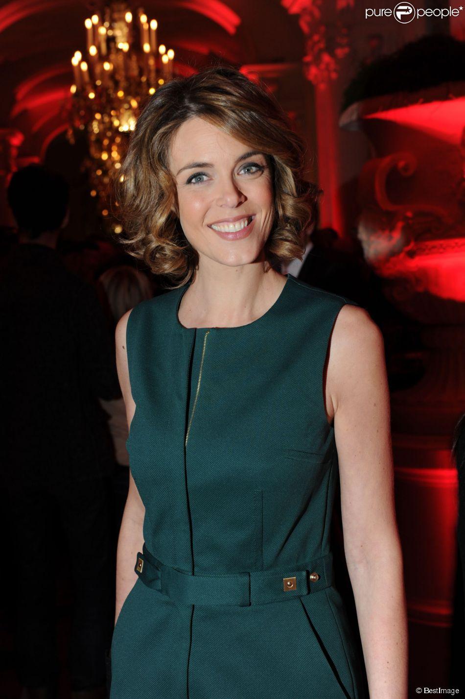 Julie Andrieu - 25 ans du magazine TV Mag. Le 9 décembre 2012 à Paris.