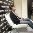 Javier Pastore concentré à la soirée de lancement de Call of Duty : Advances Warfare, le 3 novembre 2014 à Paris