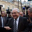 Dominique Strauss-Kahn devant le Sénat à Paris le 26 juin 2013.