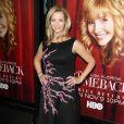 """Lisa Kudrow lors de la présentation de la saison 2 de la série """"Mon Comeback"""" à Hollywood, le 5 novembre 2014"""