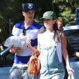 Rachel Bilson enceinte et son petit ami Hayden Christensen vont faire du camping à Ventura, le 24 août 2014.