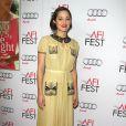 Marion Cotillard lors de la présentation du film Deux jours, une nuit, dans le cadre de l'AFI FEST à Hollywood le 7 novembre 2014