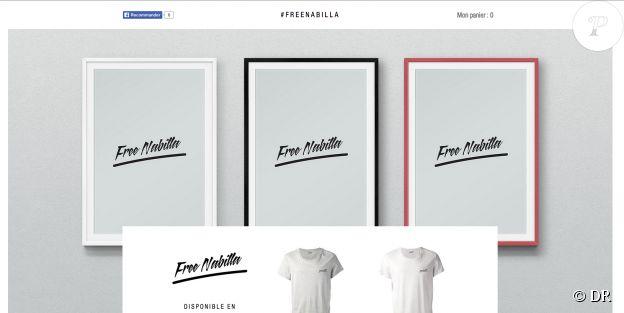 Le site FreeNabilla organise la mobilisation pour demander la libération de Nabilla.