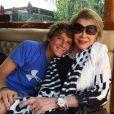 Joan Rivers et son petit-fils Cooper, le 16 juillet 2014