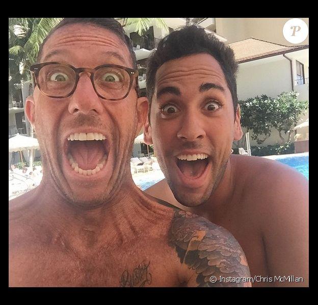 Chris McMillan, le coiffeur des stars et BFF de Jennifer Aniston s'est marié avec son compagnon Martin Sevillano en novembre 2014 à Hawaii.