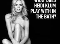 Heidi Klum : Entièrement nue, sa réponse à Kim Kardashian !