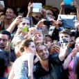 Angelina Jolie auprès des fans à Sydney en Australie le 17 novembre 2014.