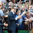 """Brad Pitt - Première du film """"Unbroken"""" à Sydney en Australie le 17 novembre 2014."""
