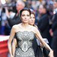 Angelina Jolie lors de la première mondiale du film Invincible à Sydney, le 17 novembre 2014.
