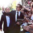 Brad Pitt à Sydney, le 17 novembre 2014.