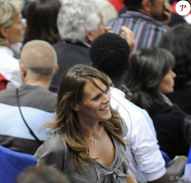 Laure Manaudou au Stade de France