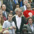 François Hollande au Stade de France pour la victoire de la France face à la Serbie