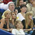 Laure Manaudou au Stade de France pour la victoire de la France face à la Serbie