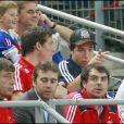 Samir Nasri au Stade de France pour la victoire de la France face à la Serbie