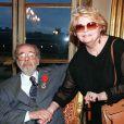 Serge Regianni et son épouse Noëlle Adam, à Paris le 23 octobre 1998