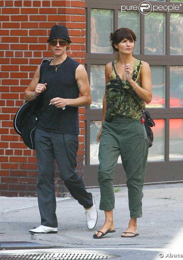 Helena Christensen couple