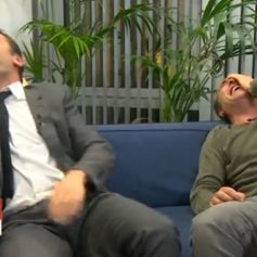 Gilles lellouche vid os for Dujardin rire
