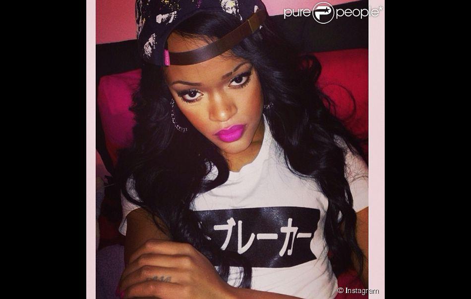 Rihanna du moins, son sosie Andele Lara