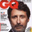 Antoine de Caunes en couverture de GQ