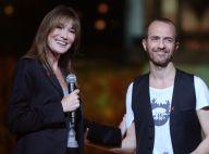 Carla Bruni : Chic et rock'n'roll aux côtés de Calogero et de Yannick Noah