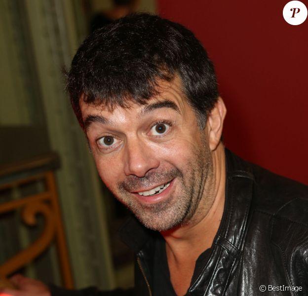 Stéphane Plaza - Soirée d'inauguration de la FIAC 2013 (Foire Internationale d'Art Contemporain) au Grand Palais à Paris le 23 octobre 2013.