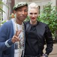 Pharrell Williams et Gwen Stefani à Los Angeles le 1er décembre 2014 pour le junket de Paddington