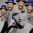 """Gwen Stefani invite Pharrell Williams dans son clip """"Spark The Fire"""", décembre 2014."""