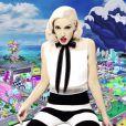 """Gwen Stefani (45 ans) et Pharrell Williams dans le clip """"Spark The Fire"""", décembre 2014."""